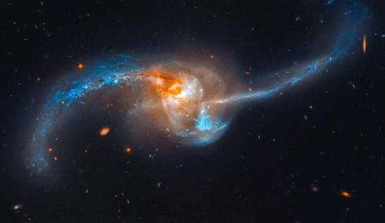 3a merging galaxies