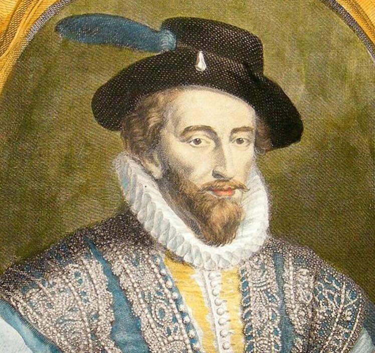 4 Walter Raleigh portrait