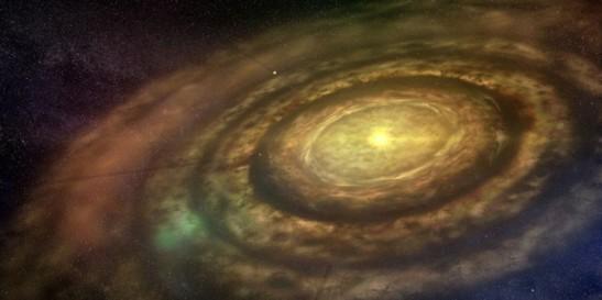 4b emerging solar system
