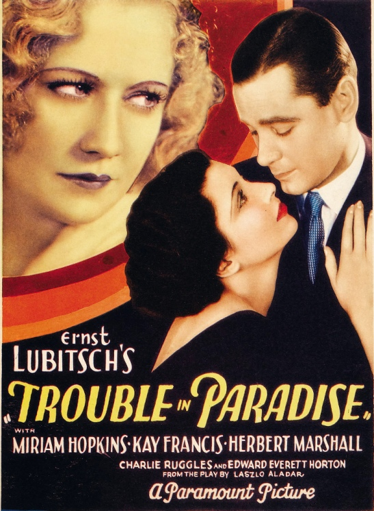 1 Trouble in Paradise poster