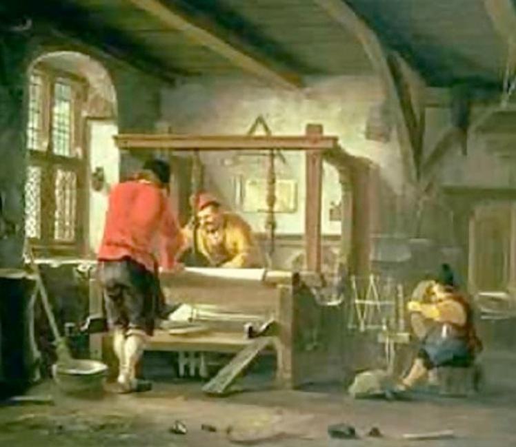 1 Weavers c 1800