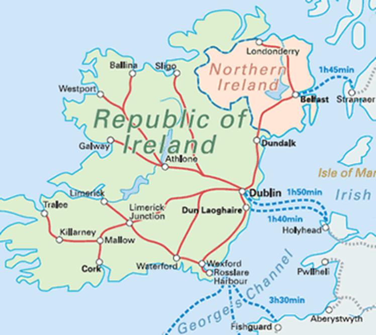 3 Ireland rail