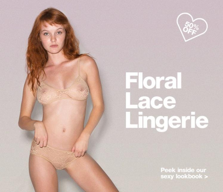 5 Lingerie ad