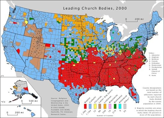 5 Leading church bodies