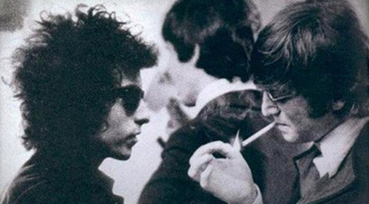 8 Lennon and Dylan