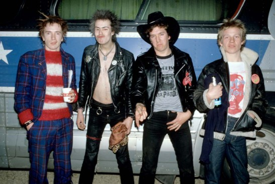 Sex Pistols Tour of America 1977- For Merchandise use only-Not for DVD or CD usage