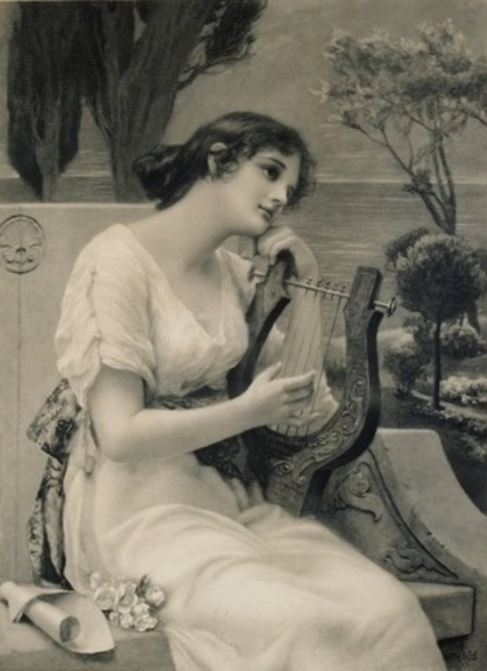 3 Woman with lyre