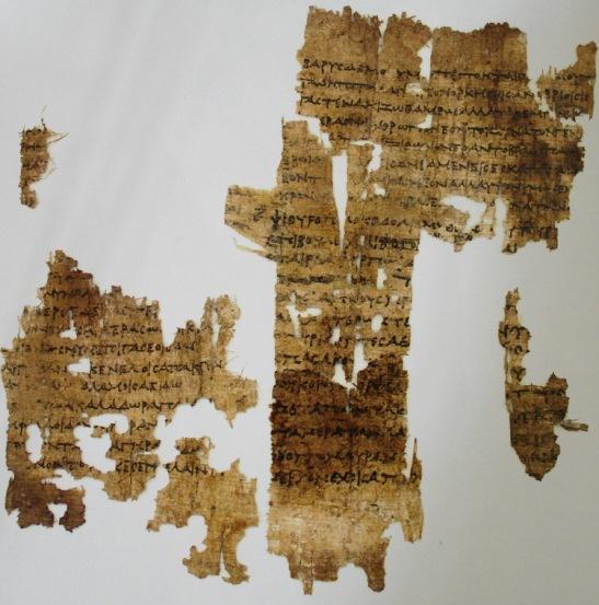 4b Saphhos On Old Age papyrus c. 3 BC