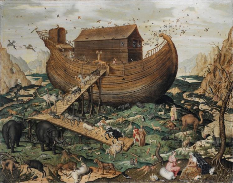 6-noahs-ark-on-mount-ararat-by-simon-de-myle