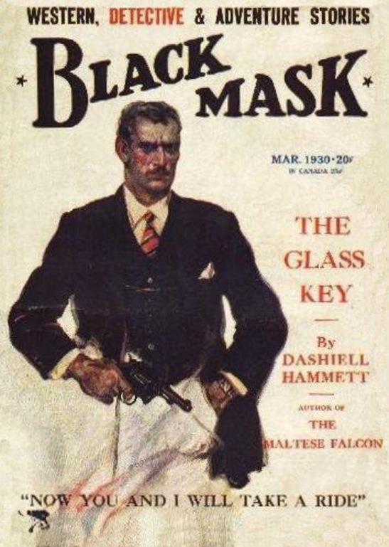 8-the-glass-key-black-mask-march-1930